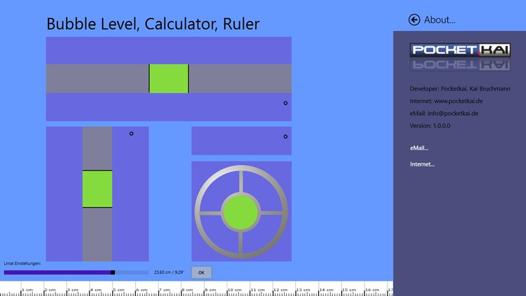 Bubble Level, Calculator, Ruler snimak ekrana 2