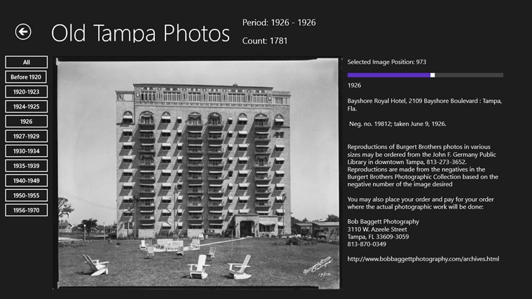 Old Tampa Photos screen shot 6