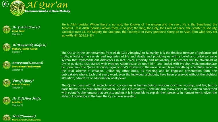 Al Quran snímek obrazovky 0
