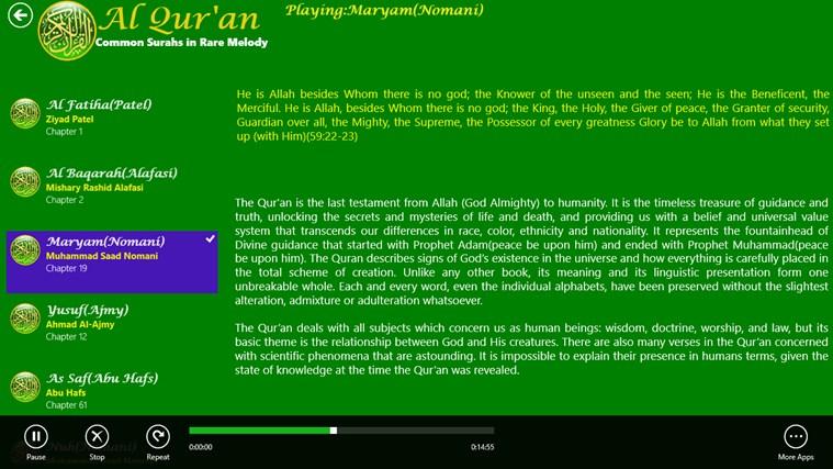 Al Quran snímek obrazovky 2