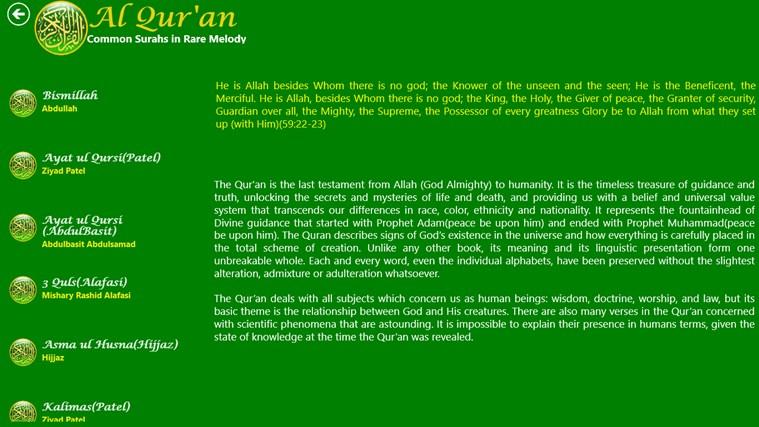 Al Quran snímek obrazovky 6
