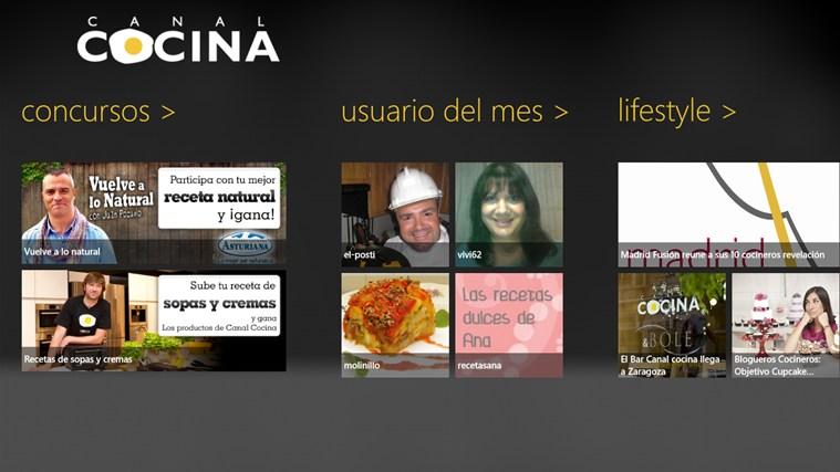 Canal Cocina captura de pantalla 2