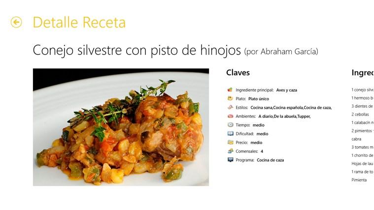 Canal Cocina captura de pantalla 4