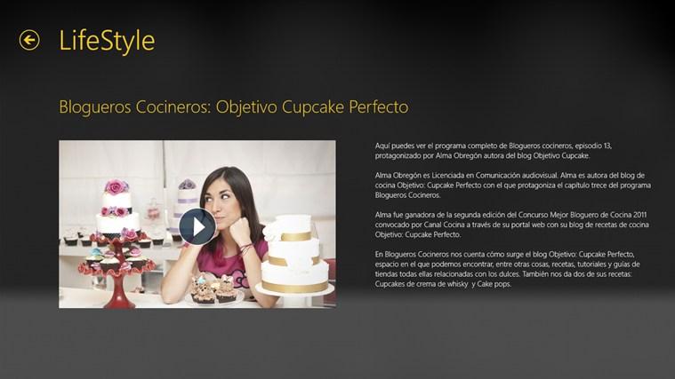 Canal Cocina captura de pantalla 6
