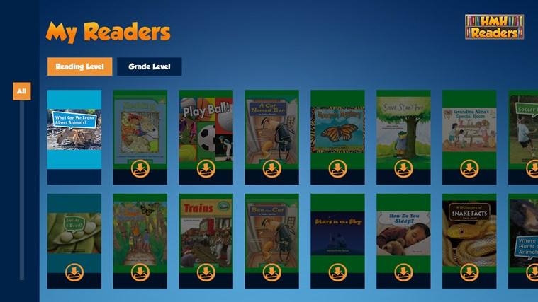 HMH Readers screen shot 0