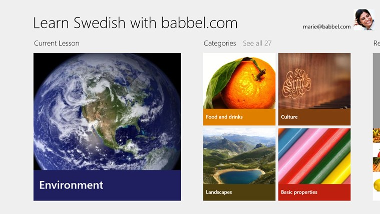 Learn Swedish with babbel.com screen shot 0