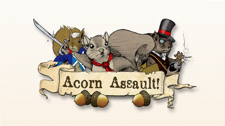 Acorn Assault screen shot 0
