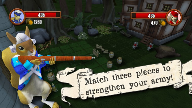 Acorn Assault screen shot 2