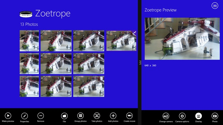 Zoetrope screen shot 0