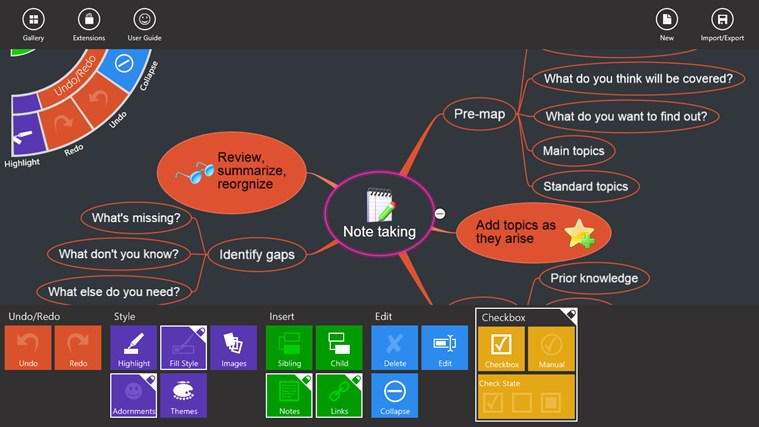 NovaMind Mind Mapping Complete screen shot 6