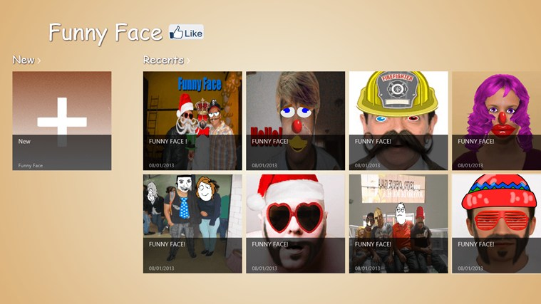 Funny Face screenshot 0