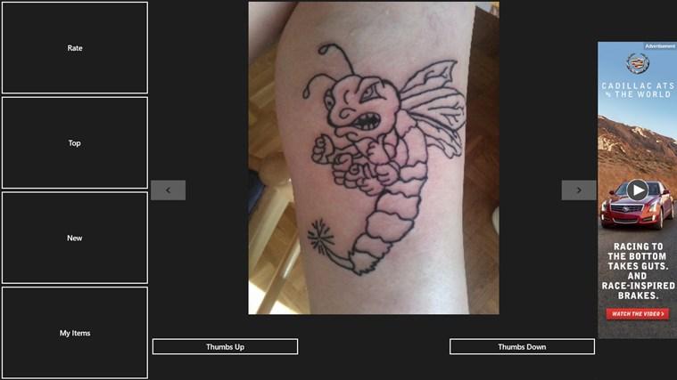 Rate My Tattoo gabháil scáileáin 2