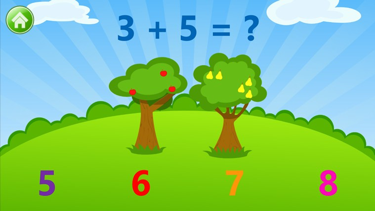 Kids Numbers and Math - Learn to Count, Add, Subtract, Compare and Match Numbers screen shot 0
