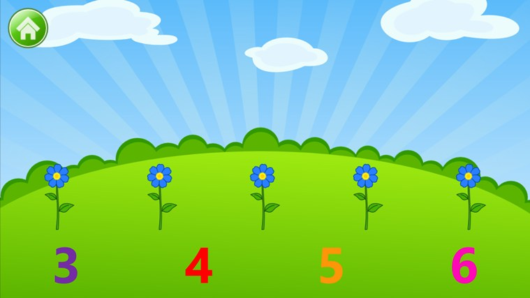 Kids Numbers and Math - Learn to Count, Add, Subtract, Compare and Match Numbers screen shot 2