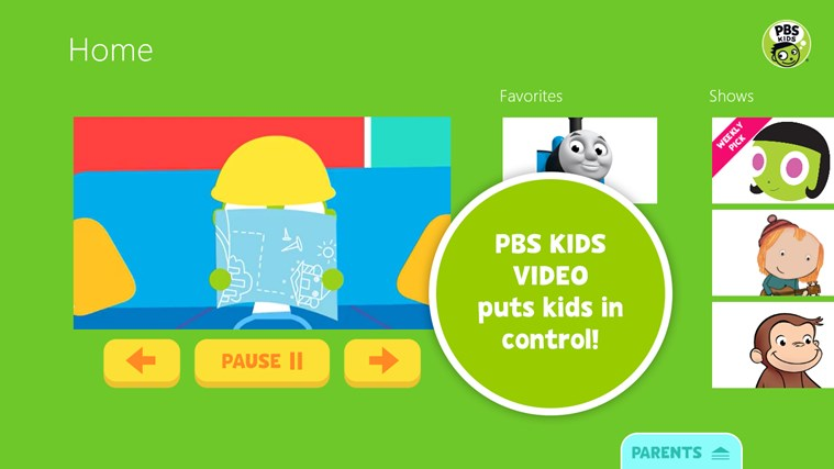 PBS KIDS Video screen shot 0