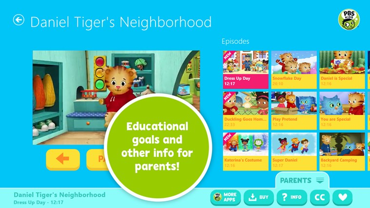 PBS KIDS Video screen shot 2