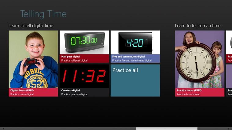 Telling Time screen shot 0