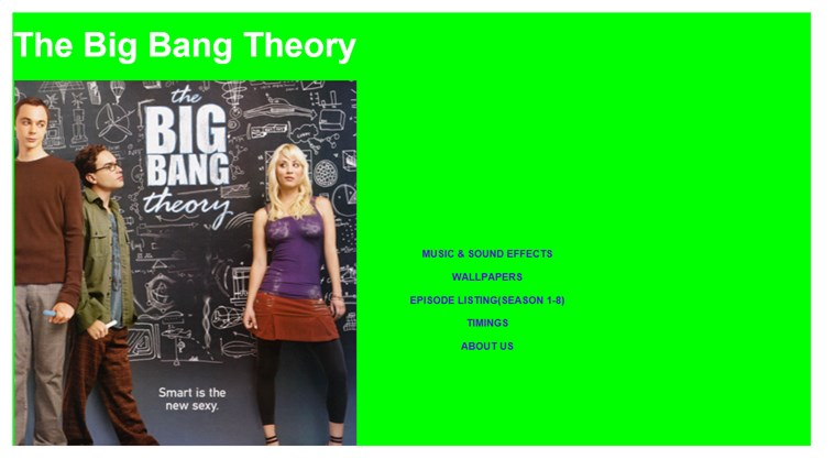 Big Bang Theory screen shot 0
