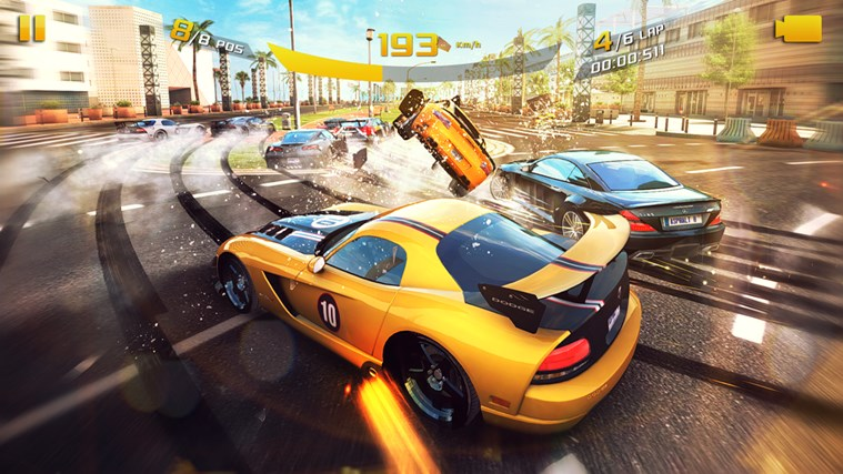 Asphalt 8: Airborne screen shot 4