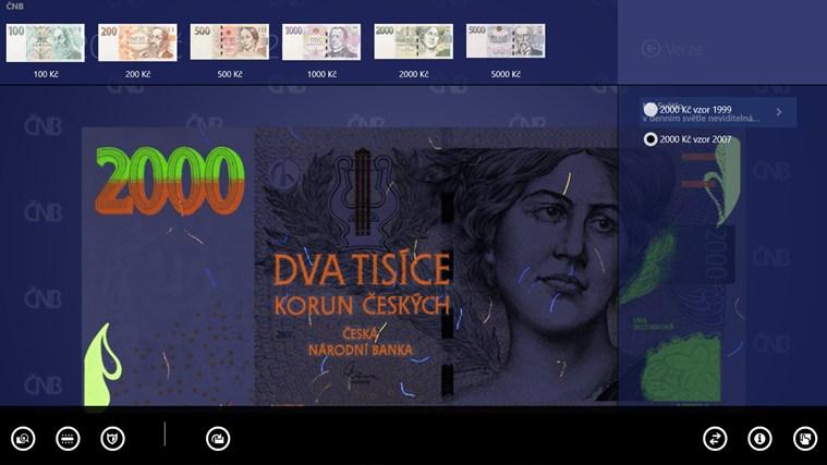 České peníze snímek obrazovky 4