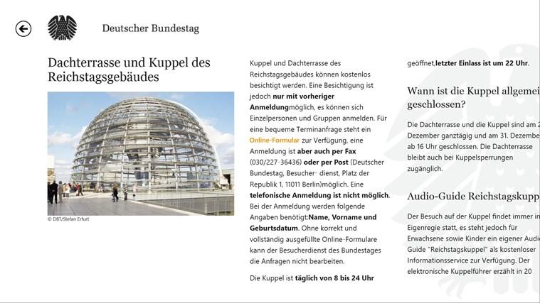 Deutscher Bundestag screen shot 8
