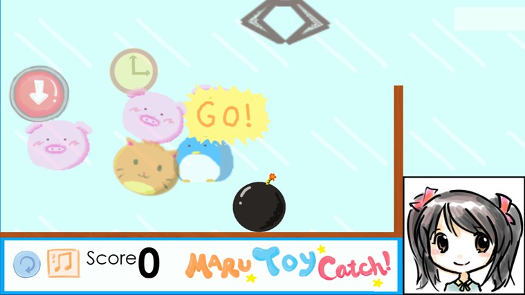 Maru Toy Catch! screen shot 2