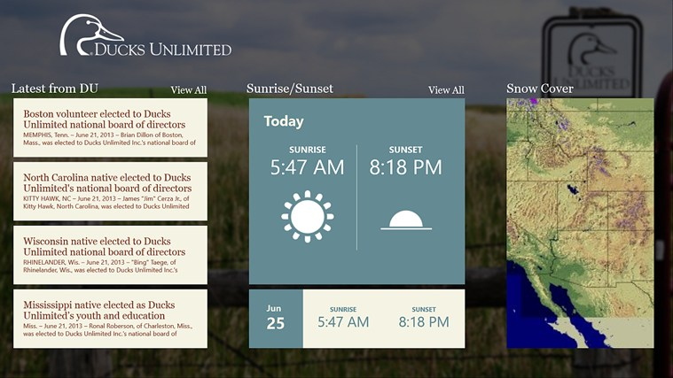 Ducks Unlimited screen shot 2