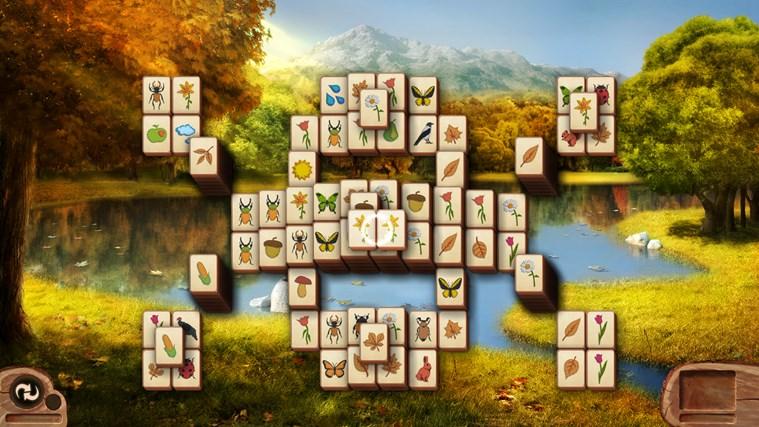 Microsoft Mahjong snímek obrazovky 6