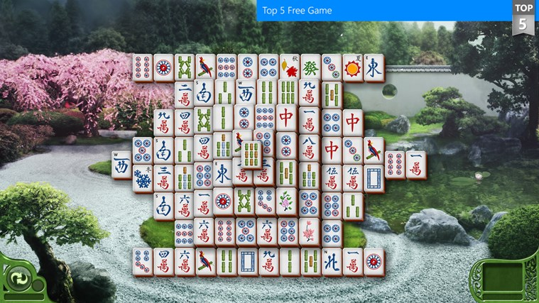 Microsoft Mahjong screen shot 0