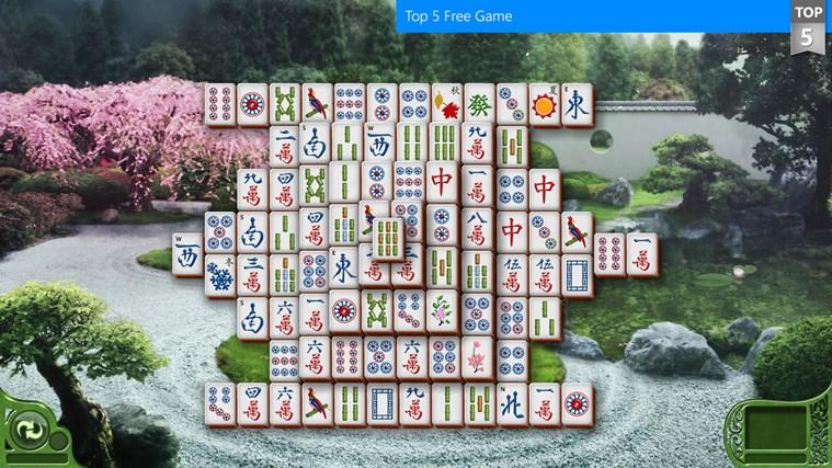 Microsoft Mahjong screen shot 0