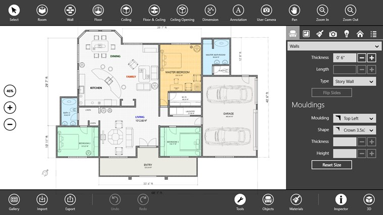 Live interior 3d pro app for windows in the windows store Home design apps for windows