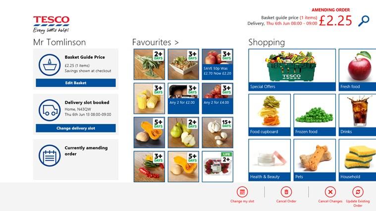 Tesco Groceries screen shot 6