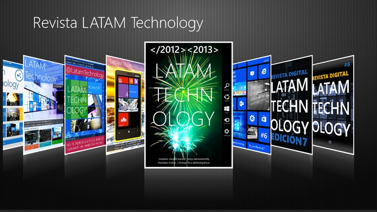 Revista LATAM Technology screen shot 0