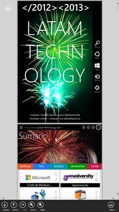 Revista LATAM Technology screen shot 4