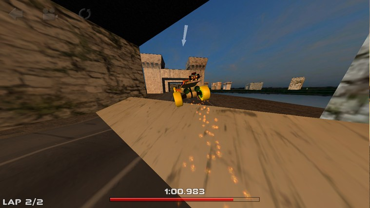 3D Car Race screen shot 2