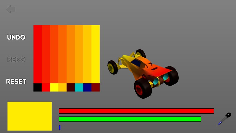 3D Car Race screen shot 6