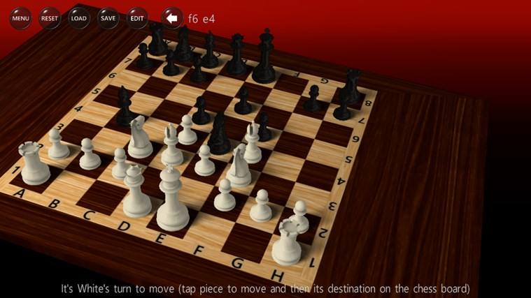 3D Chess Game screen shot 0