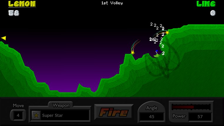 Pocket Tanks screen shot 4