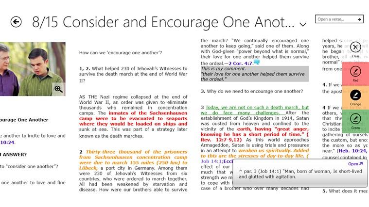 JW Bible Reader screen shot 0