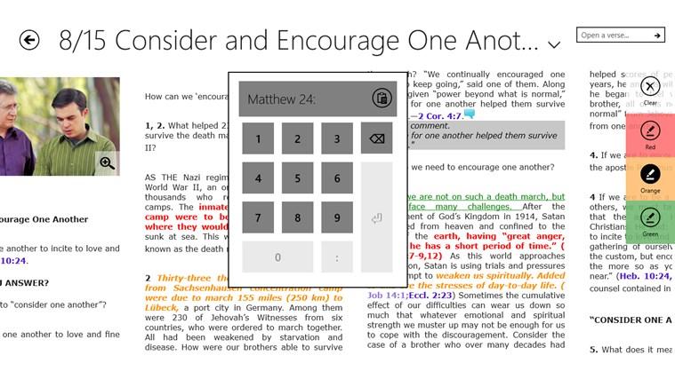 JW Bible Reader screen shot 2