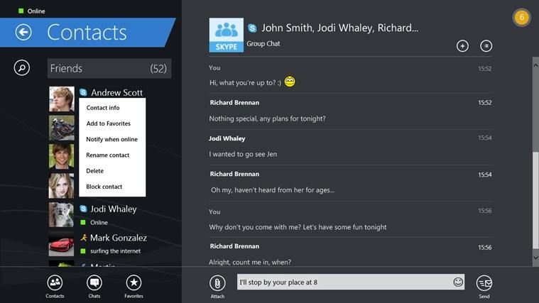 IM+ Instant Messenger screen shot 6