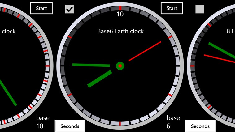 Clock Designer screen shot 0