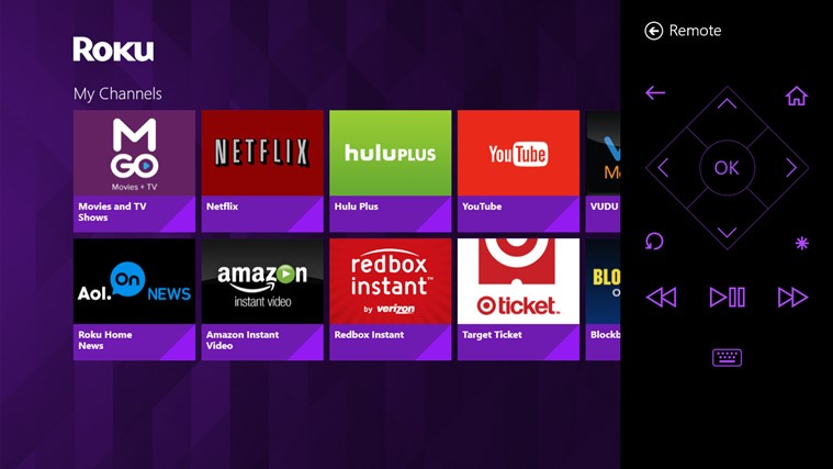 Roku screen shot 0