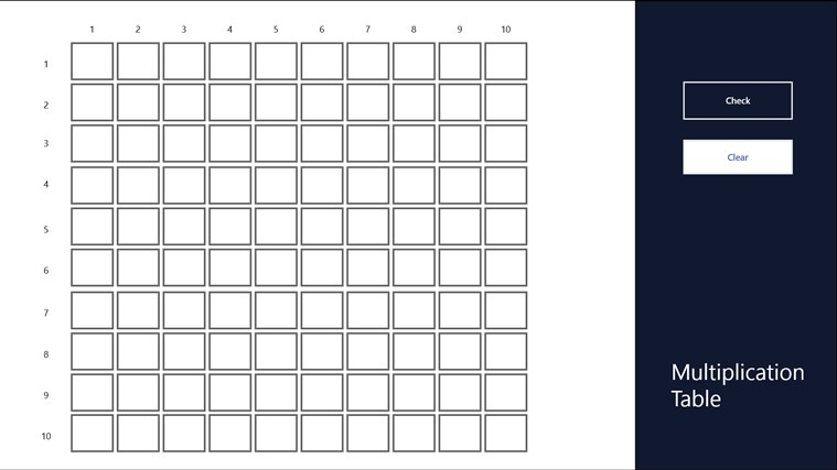 printable blank multiplication table imuseus – Blank Multiplication Worksheets