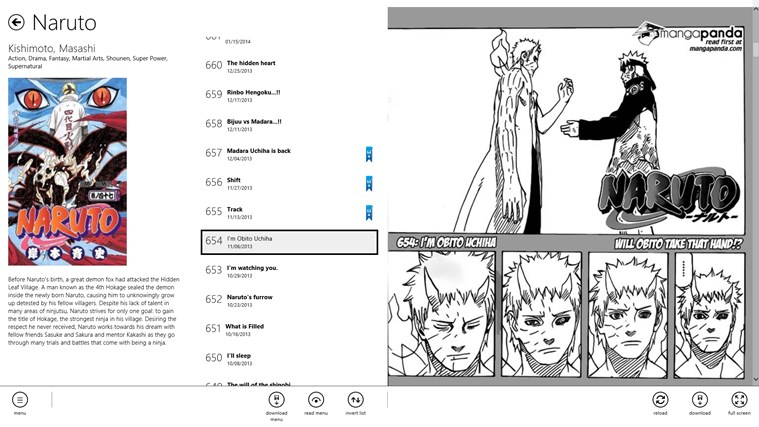 Manga Bird screen shot 4