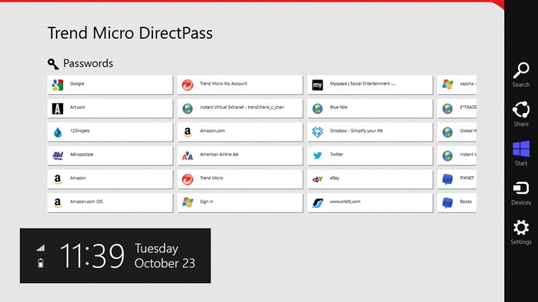 DirectPass screen shot 0