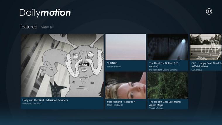 Dailymotion schermafbeelding 0