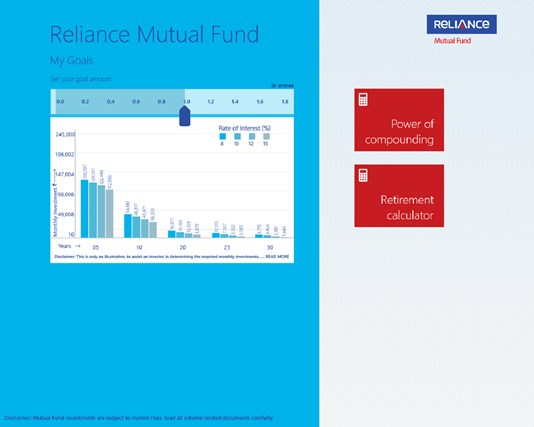 Reliance Mutual Fund i-screen shot 0
