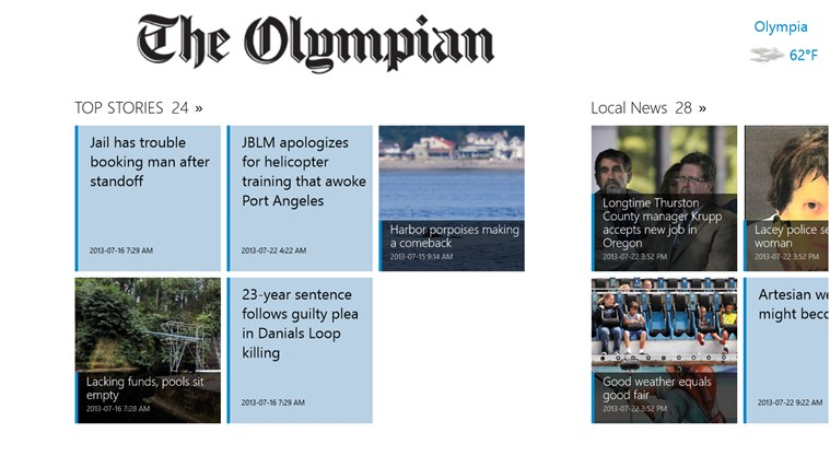 The Olympian screen shot 0
