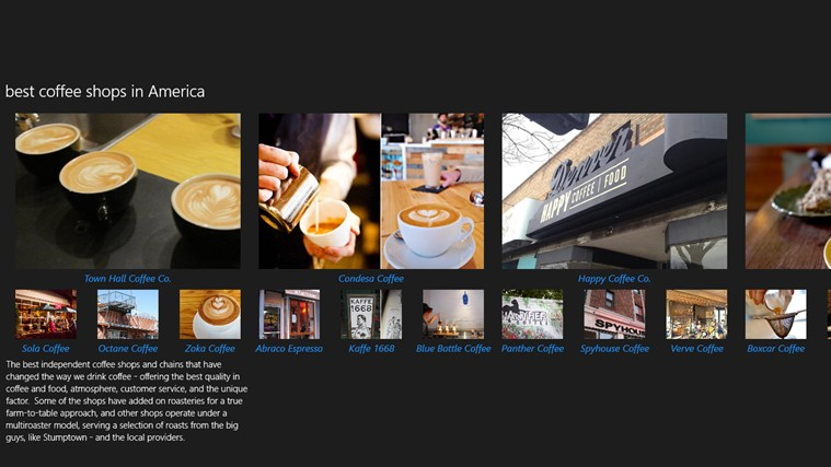 Best Coffee Shops screen shot 2